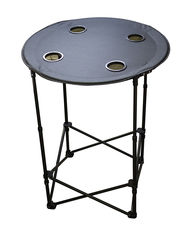 Totes 50260TOGS Outdoor Tailgate Table - Black