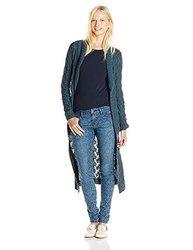 Unionbay Women's Bellingham Geo Amanda Cardigan Sweater - Blue - Size: S