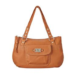 Relic Women's Ella Double Shoulder Handbag - Saddle