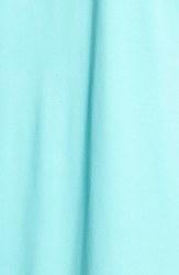 Chaus Women's Lace Trim Scoop Neck Top - Blue/Green - Size: Large
