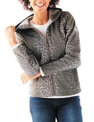 ZeroXposur Women's Lilian Hooded Soft Shell Jacket - Grey - Size: XL