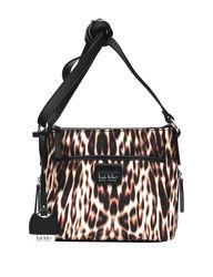 Nicole Miller Lillia Leopard Print Nylon Crossbody Bag - Multi