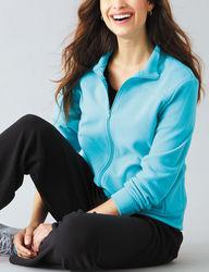Rebecca Malone Women's 2-pc Jacket & Pant Set - Aqua / Black - Size: M