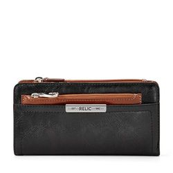 Relic Women's Caraway Checkbook Wallet - Black - Size: One