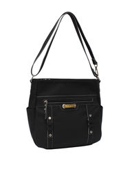 Rosetti Women's Let's Face It Convertible Tote Handbag - Black - Size: One