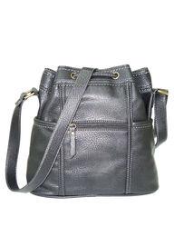 B.O.C. Women's Chelmsford Drawstring Crossbody Handbag - Black