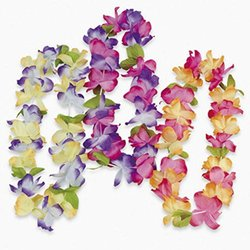 Oriental Mahalo Flower Lei Tropical Beach Wedding Party Favours
