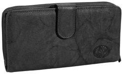 Heiress Ensemble Clutch Wallet, Black, One Size