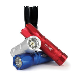 Nebo Tools CSI Tactical Assorted LED Flashlight - Red