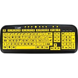 Ezsee Lg Print Spanish English Keyboard