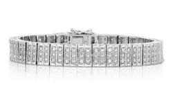Beauty Gem 1 CTTW Diamond Bracelet - Rectangle