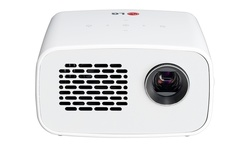 LG Minibeam LED Projector with Built-In Battery and Digital Tuner (PH300W)