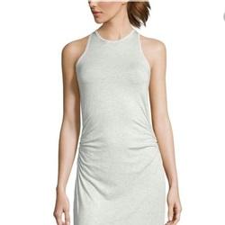Sen Sleeveless Joey Tank Dress - Slate - Size: 2