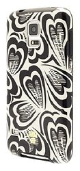 Anna Sui Case Cor Samsung Galaxy S5 Cell Phones - Black/Cream