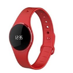 ZeCircle Activity Tracker Watch with Bluetooth(R) 4.0BLE Red
