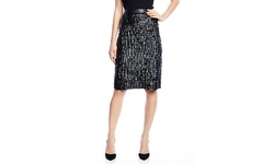 Catherine Malandrino Women's Marti Faux Leather Skirt - Black - Size: One