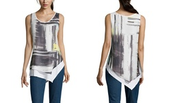 Stella Carakasi Add it Up Tank - Multi Print - Size: Large