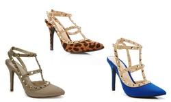 Anne Michelle Monet-41 Women's Heel - Blue - Size: 10