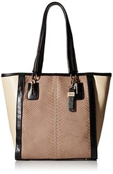 Buxton Hannah Tote Shoulder Bag - Taupe - Size: One Size