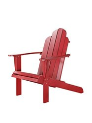Linon Outdoor Adirondack Chair - Red