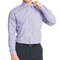Van Heusen Men's Flex Collar Dress Shirt - Blue - Size: 17.5""