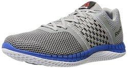 Reebok ZPrint Runnig Shoe - Grey/Blue Sport - Size: 9 M