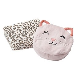 Carter's Animal On-the-Go Bag & Blanket Set Pink