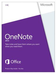 Microsoft OneNote 2013 Key Card (1PC/1User)