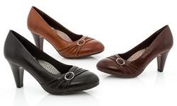 Rasolli Women's Perla-2 Comfort Career Dress Shoes - Black - Size: 8.5