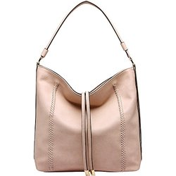 MKF Collection Women's Apple Shoulder Handbag - Beige