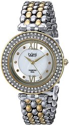 Women s Swiss Quartz Diamond Markers Alloy Bracelet Watch: Gold
