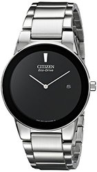 Citizen AU1060-51E Axiom Eco-Drive Stainless Steel Bracelet Watch