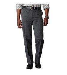 Dockers Men's Signature Khaki D3 Classic Fit Pants - Black - Size: 34 x 32