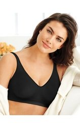Bali Women's Clothing Wire Free Bra - Black - Size: Medium