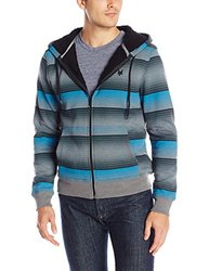 Zoo York Men's Insight Sherpa Hoodie - Hudson Blue - Size: Small