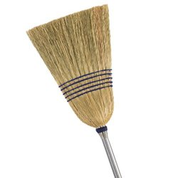 Mr Clean Deluxe Corn Broom - Size: Extra Large
