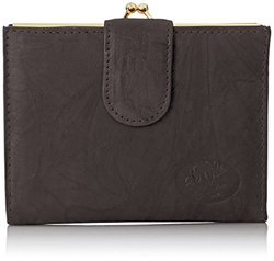Buxton Heiress Double Cardex Wallet, Black, One Size