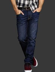 Signature Studio Men's Slim Straight Jeans - Blue - Size: 34x30