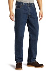 Levi's Men's Big & Tall 550 Relaxed Fit Jeans - Stonewash - Size: 48x30