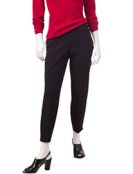 Briggs New York Women's Petite Millennium Ankle Pants - Black - 14