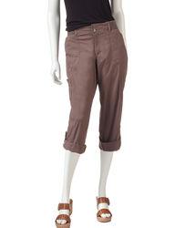 Gloria Vanderbilt Women's Willa Capris - Cream - Size: 10