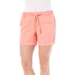 Gloria Vanderbilt Women's Molly Soft Shorts - Coral Nector - Size: 6