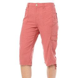 Gloria Vanderbilt Everly Linen Skimmer Capris - Pink - Size: 8