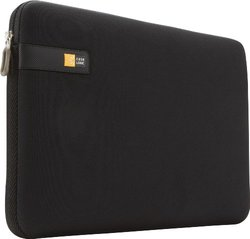 "Case Logic 13.3"" Laptop Carrying Case Sleeve - Black (LAPS113BLACK)"