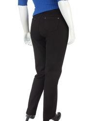 Baccini Women's Plus-size Basic Black Jeans - Black - Size: 20W