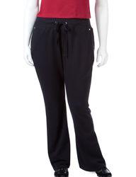 Silverwear Women's Plus-size Tempo Pants - Black - Size: 1X