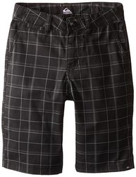 Quiksilver Big Boys' Union Surplus Short - Black - Size: 27