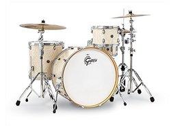 "Gretsch Drums Catalina Club Floor Tom - 16x18"" - Vintage White Pearl"