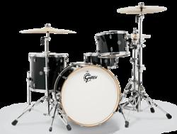 """Gretsch Drums Catalina Club - 16x18"""" Floor Tom - Flat Black (CT1-1618F-FB)"""