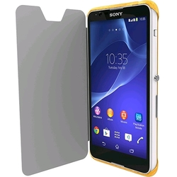 Krusell Boden Flip Cover for Xperia E4 - Yellow (90075)